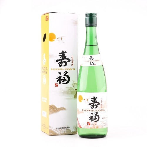 Lotte Korean Rice Wine Baekhwa 700ml 1 8l